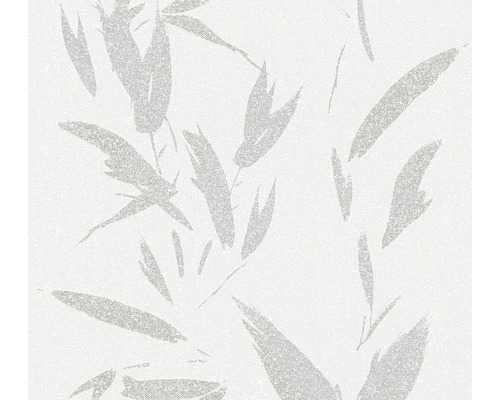 Vliestapete 37549-4 New Elegance Blätterranke Silber