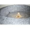 Terrassenbrunnen, Gartenbrunnen inkl. Pumpe und LED Beleuchtung 50 x 47 x 30 cm