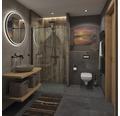 Spülrandloses Wand-WC-Set Vanea weiß mit WC-Sitz