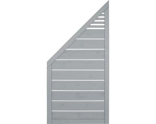 Zaunelement Lovis 90x180/90 cm, hellgrau