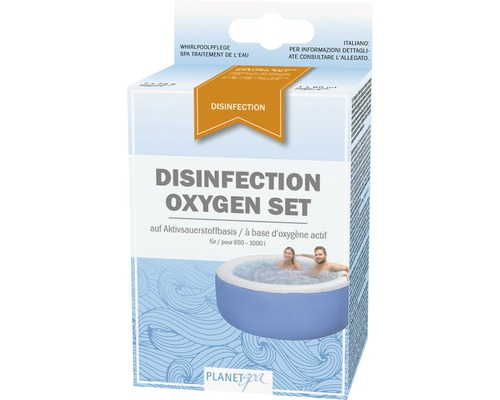 Desinfection Oxygen Planet Spa