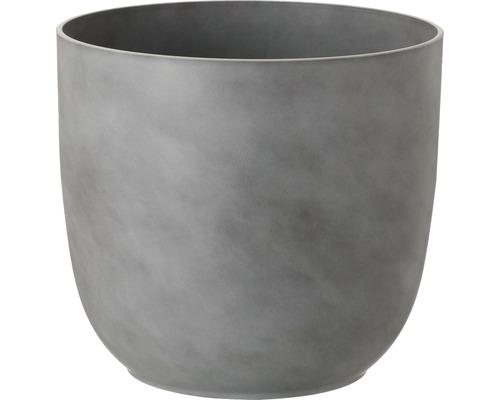 Lafiora Pflanztopf Fern KST Ø 28.1cm, grau
