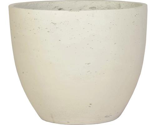 Lafiora Pflanztopf Ø 35 cm H 29 cm weiß