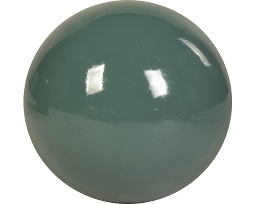 Dekokugel Keramik Ø 14 cm blau-grün