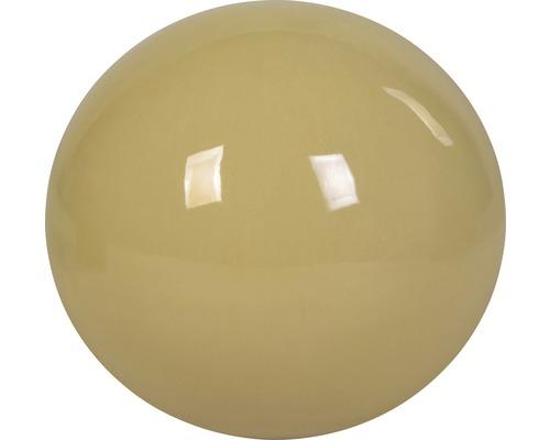 Dekokugel Keramik Ø 14 cm beige