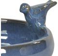 Vogeltränke Ø 28 cm blau