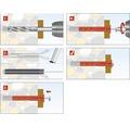 Rahmendübel Tox Fassad XL 14/260, 25 Stück