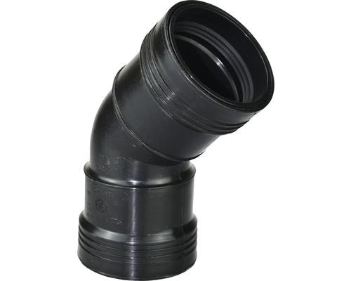 Steckbogen HEISSNER 45° (PP) Ø 50 mm Gummidichtung