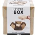 """Geschenkbox """"Explosionsbox"""" beige"""