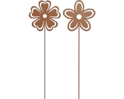 Dekostab Blume H 85 cm Metall