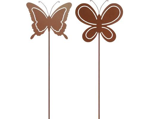 Dekostab Schmetterling H 115 cm Metall