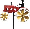 Metall Windmühle Traktor