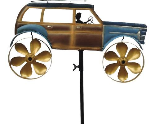 Metall Windmühle Auto