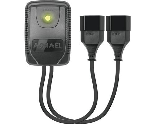 Zeitregler AQUAREL Socket Link Duo elektronisch, zweikanalig