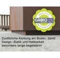 Hochbeet klassisch GABIO 80 x 39 x 78 cm rost