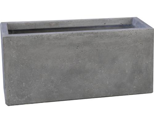 Lafiora Raumteiler L 100cm Betonoptik hellgrau