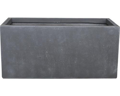 Lafiora Raumteiler L 80cm Betonoptik dunkelgrau