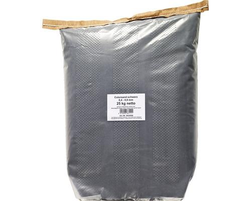 Aqua Colorsand schwarz 25 kg