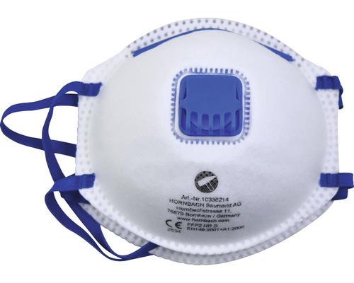 Feinstaubmaske FFP2 mit Ventil, 2er Pack
