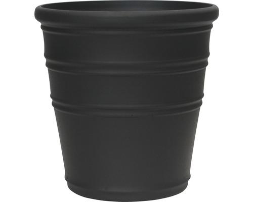 Lafiora Pflanztopf Ø 41 cm H 41 cm matt schwarz