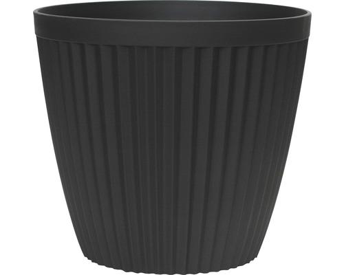 Lafiora Pflanztopf Ø 43 cm H 39,5 cm matt schwarz