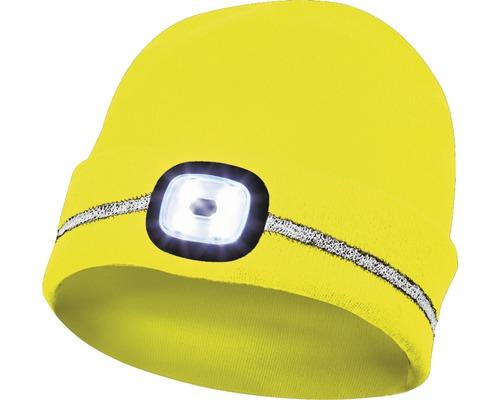 LED Strickmütze Gebol gelb