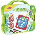 Kreativset Mandala zum Zeichnen und Ausmalen im Koffer