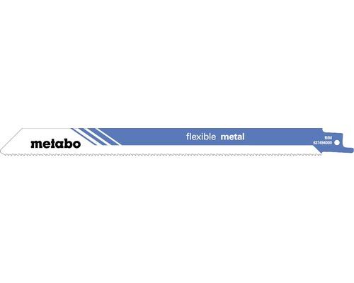 Säbelsägeblätter Metabo flex metal BIM 225mm/1,8mm/14 T, 5 Stk.