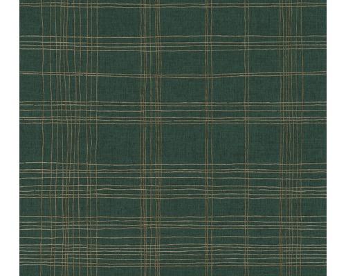 Vliestapete 37919-3 Metropolitan Stories 2 Karo grün