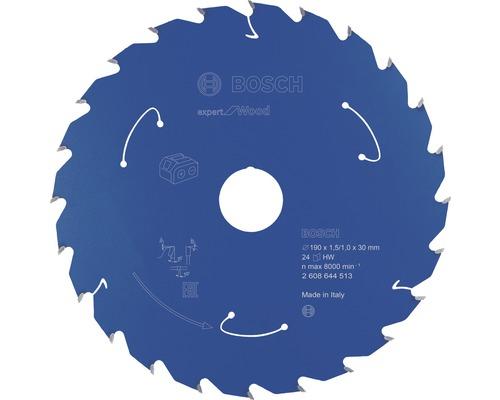 Kreissägeblatt Expert for Wood 190x30 mm Z24