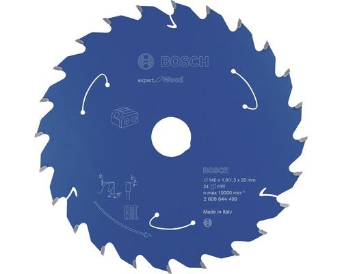 Kreissägeblatt Expert for Wood 140x20 mm Z24