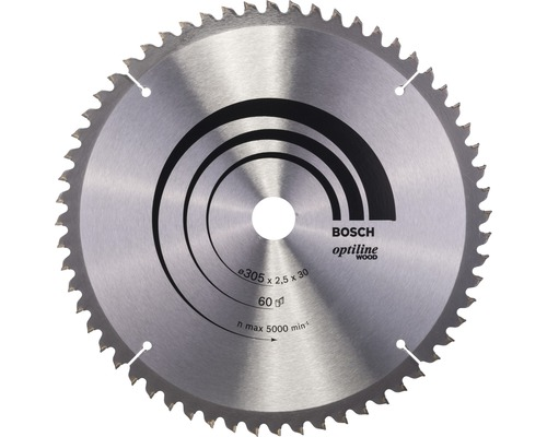 Kreissägeblatt Optiline Wood B 305x30 mm Z60