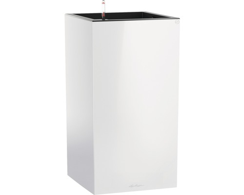 Pflanzvase Lechuza Canto Premium 40 x 40 x 75,8 cm weiß