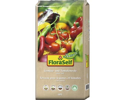 Tomaten- und Gemüseerde FloraSelf Nature 40 L