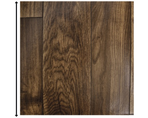 PVC Mimas Stabparkett rot-braun 400 cm breit (Meterware)