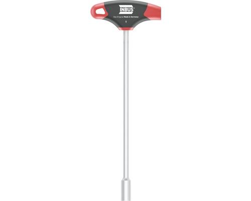 T-Griff Außensechskantschlüssel INBUS 71918 9mm mit HybridTouch
