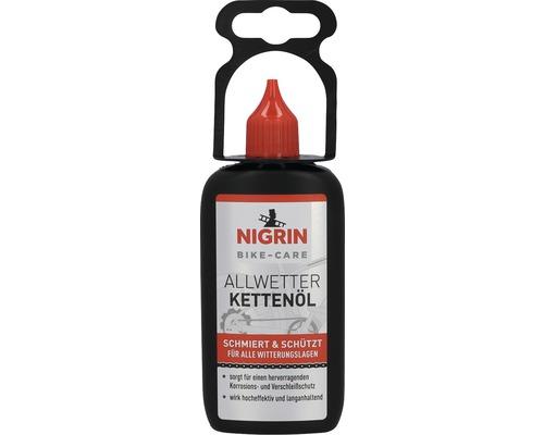 BIKE-CARE Kettenöl Allwetter Nigrin 100 ml