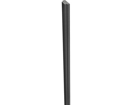 Nutleiste 300 cm für Flexpfosten 10x10, anthrazit