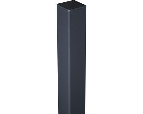 Alutorpfosten 6x6x190 cm zum aufschrauben, anthrazit