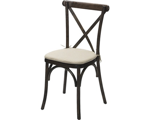 Sitzkissen Crossback stuhl beige