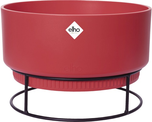 elho Pflanzgefäß Blumenschale b.for studio Ø 30 cm H 18,8 cm rot für innen