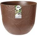 elho Pflanzgefäß Pflanztopf fuente lily Ø 47 cm H 38,4 cm braun für außen und für innen frostbeständig und UV-beständig
