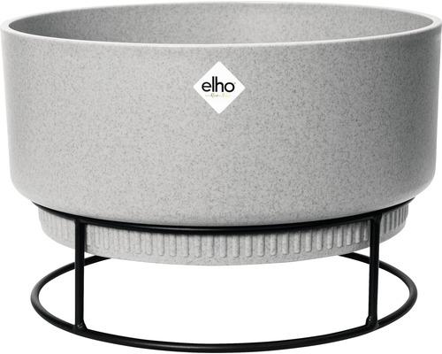 elho Pflanzgefäß Blumenschale b.for studio Ø 30 cm H 18,8 cm beton für innen