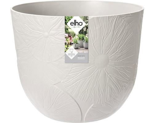 elho Pflanzgefäß Pflanztopf fuente lily Ø 30 cm H 24,3 cm grau für außen und für innen frostbeständig und UV-beständig