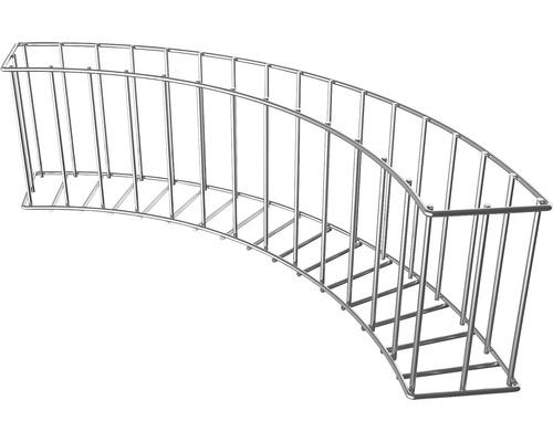 Gabionen-Beetabgrenzung Wilk Bogen 75 x 20 x 11 cm feuerverzinkt