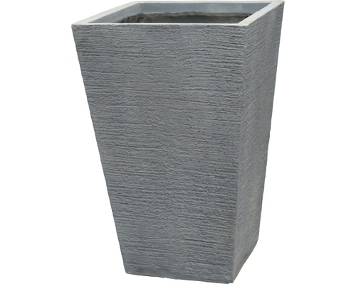 Lafiora Pflanzvase L/B 42 H 65 cm, grau