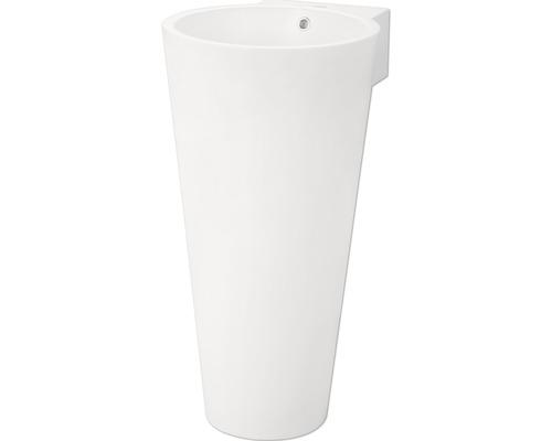 Jungborn Waschtischsäule Astera 43 cm weiß