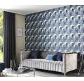 Vliestapete 10155-08 ELLE Decoration Grafisch blau