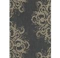 Vliestapete 10154-15 ELLE Decoration Ornament schwarz