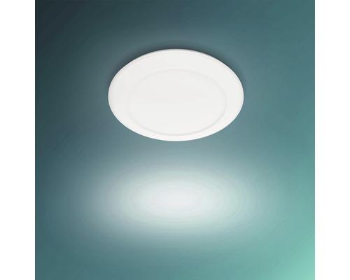 LED Deckenleuchte 16W 1300 lm warmweiß Ø 320 mm Cinnabar weiß